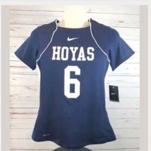 Nike Georgetown Hoyas Lacrosse Jersey Med